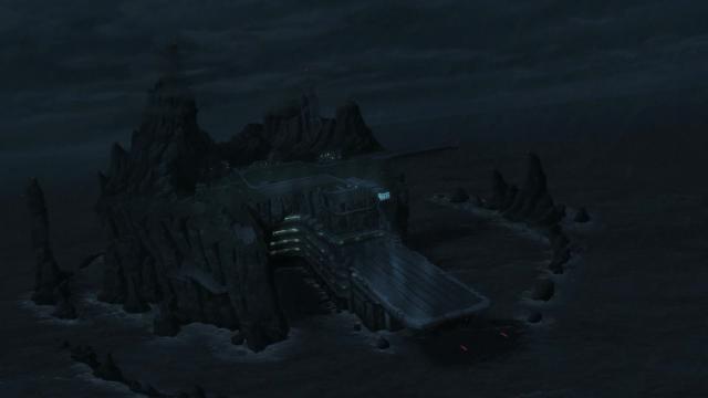 A ilha-prisão-fortaleza