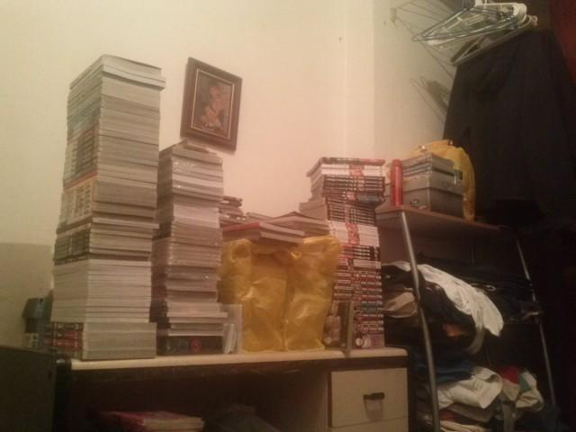 Pouco mais de 20% da minha coleção