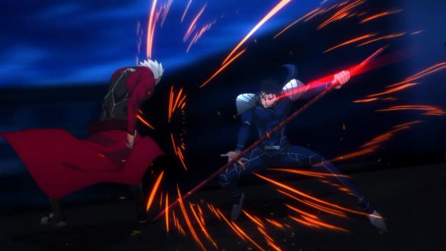"""""""Então essa é uma batalha entre Servos"""" - Tohsaka, Rin"""