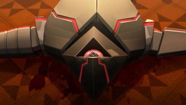 O sangue do robô